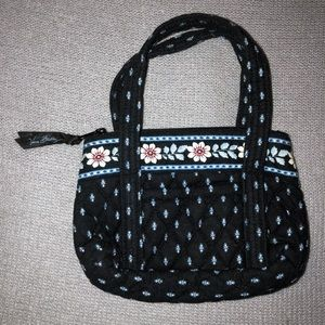 Vera Bradley Alpine Black Mini Bag